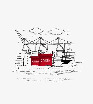 ocean freight crieta logistics
